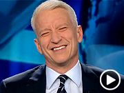 Live on the air, Anderson Cooper giggles once again! You can't help but laugh along!