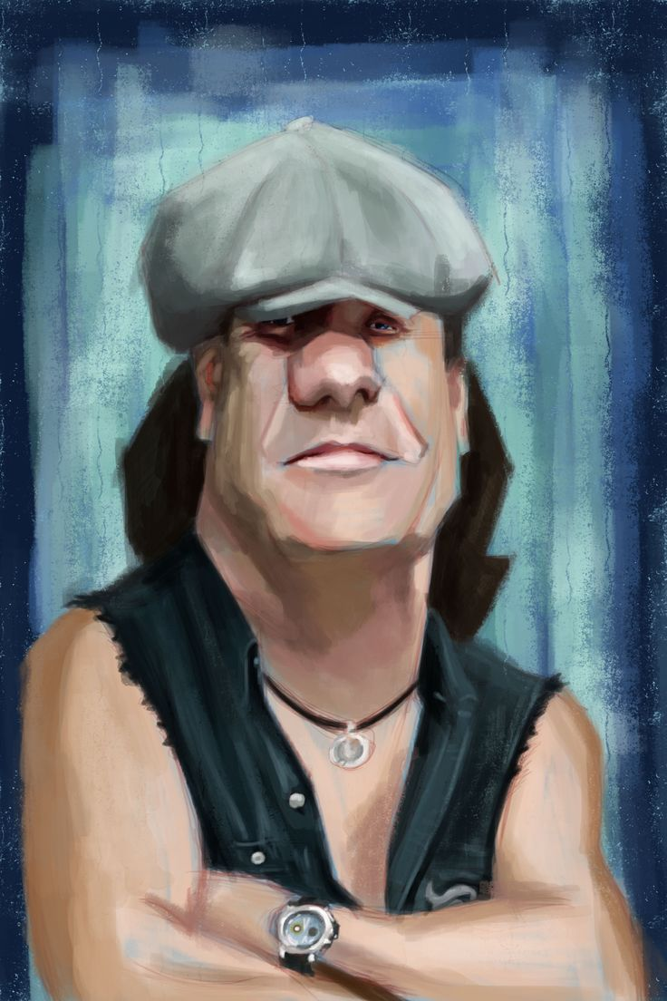 Brian Johnson | Mis Caricaturas | Pinterest | Brian johnson