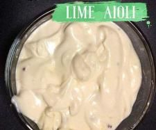 Recipe Lime Aioli by Thermomix with Nadia - Recipe of category Sauces, dips & spreads