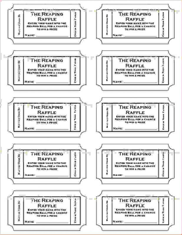 Free Printable Raffle Tickets Template Raffle Ticket Template Free Ticket Template Printable Templates Printable Free