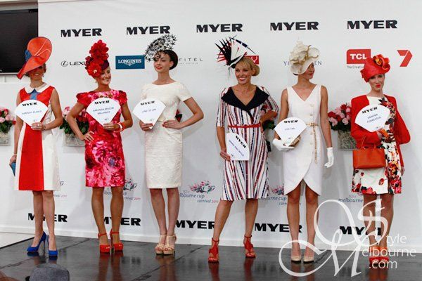 Melbourne Spring Racing Carnival - Millinery Award 2011 finalists