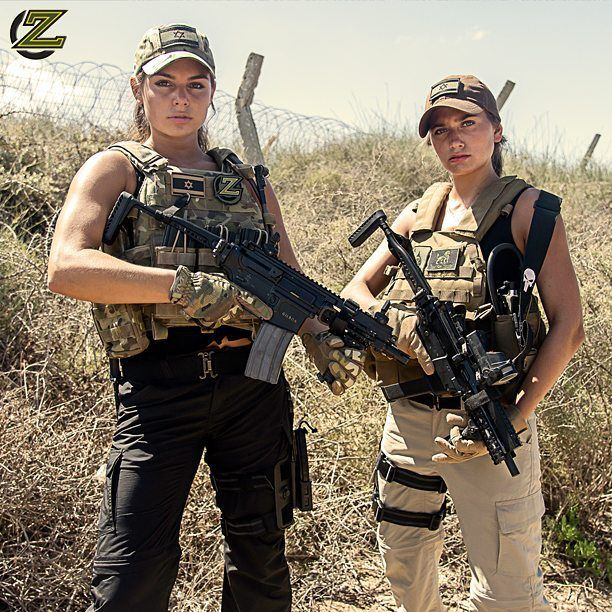 If you like guns and girls check-out @zahalorg - They produce 100% their own photography with former IDF female soldiers.  @zahalorg  @zahalorg  @zahalorg  @zahalorg