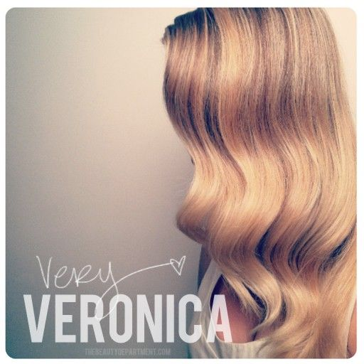 This simple vintage wave tutorial will help you up your fancy factor! hair waves