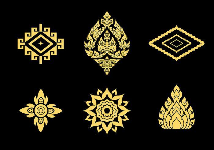 Free Thai Pattern Vector