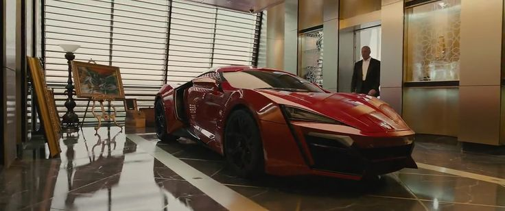 Lykan Hypersport in Fast and Furious 7