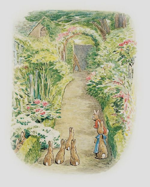 pagewoman: The Tale of Peter Rabbit by Beatrix Potter