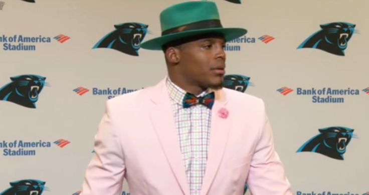 This is the Uncalled Low Hit Cam Newton Says He Plans to Call Roger Goodell About