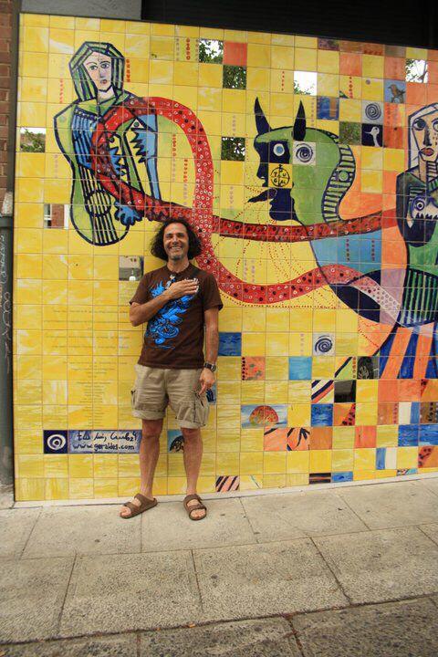 Mural By, luis GERALDES, Sydney. Australia