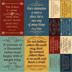 Travel quotes: Quotes Scrapbook, Quotes Stickers, Travelogu 12X12, Crafts Projects, Travelogu Quotes, 12X12 Cardstock, Cardstock Stickers, Quotes About Travel, Travel Quotes