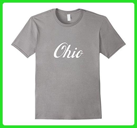 Mens Ohio OH State Home Retro 2 T-shirt XL Slate - Retro shirts (*Amazon Partner-Link)