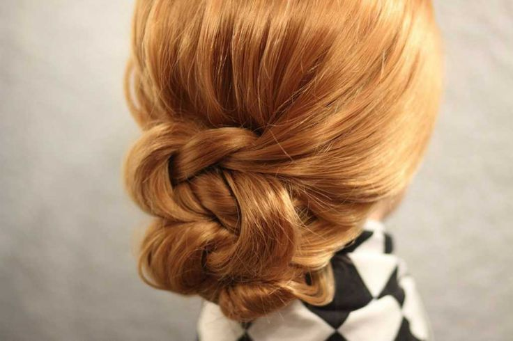 Extraordinary low bun hairstyle :: one1lady.com :: #hair #hairs #hairstyle…