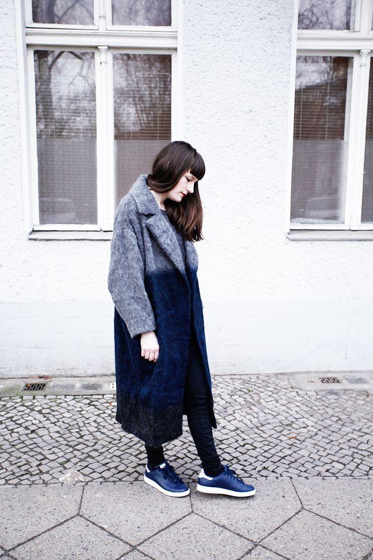 Outfit: Dip Dye Coat