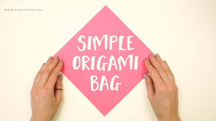 Try this simple origami tutorial and make super useful bag for all sort of things, especially for food ;)