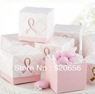Free shipping pink wedding favour candy boxes candy gift boxes wedding candy box 100pcs/lot € 12,45
