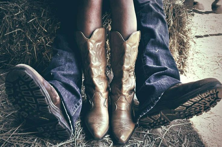 His/hers Cowboy boots |