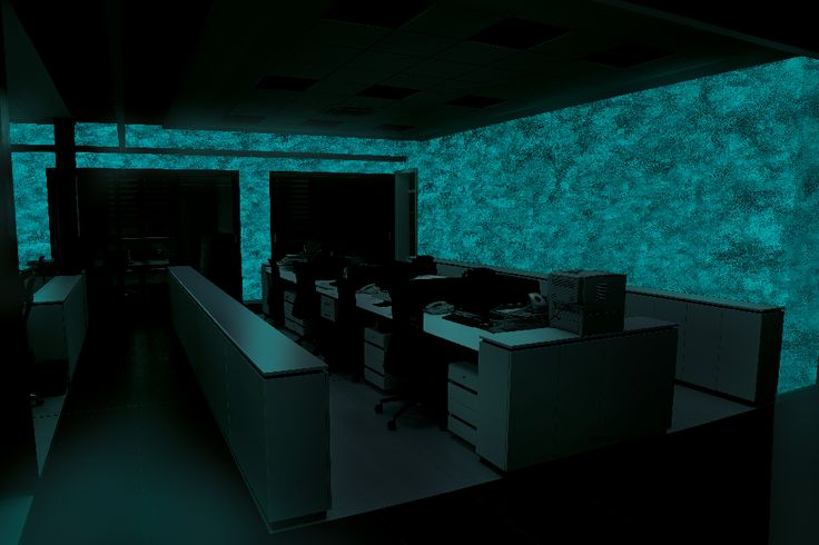Kancelária - MAGIC LIGHT - fosforujúci náter