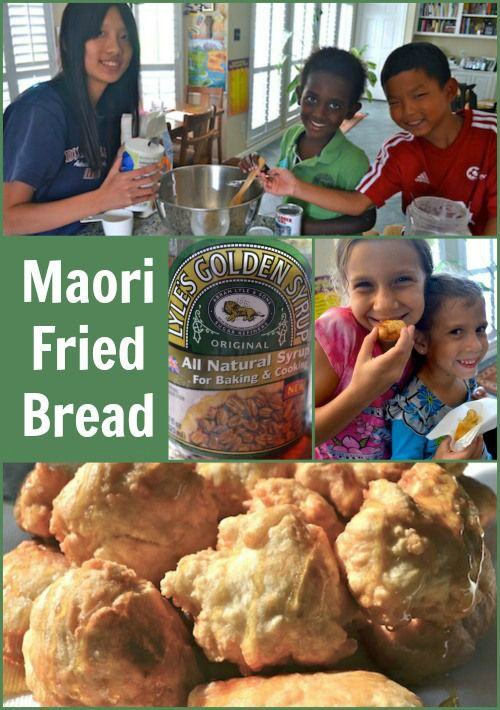 Maori Fried Bread Easy Recipe- Kid World Citizen