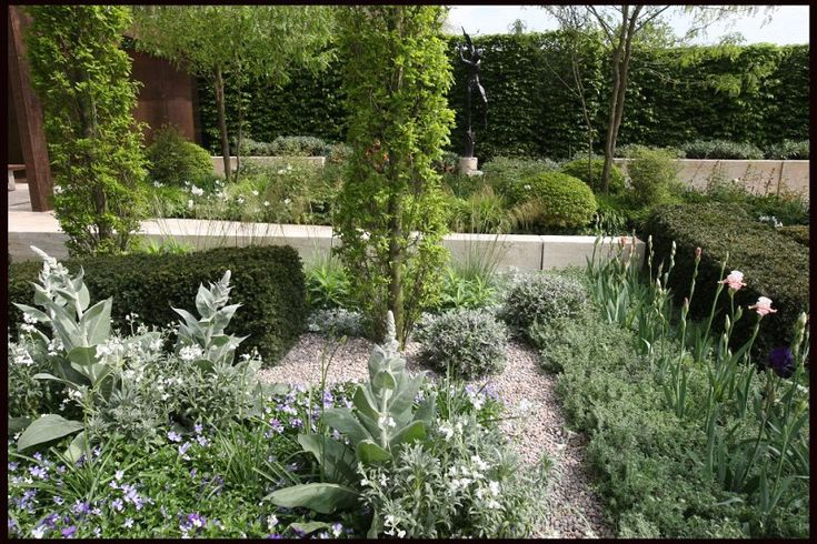 Fifty shades of grey Grey-leaved plants, which evolved in hot climates to reflect the heat of the sun, were a star feature of Ulf Nordfjels Mediterranean-inspired garden for Laurent Perrier.