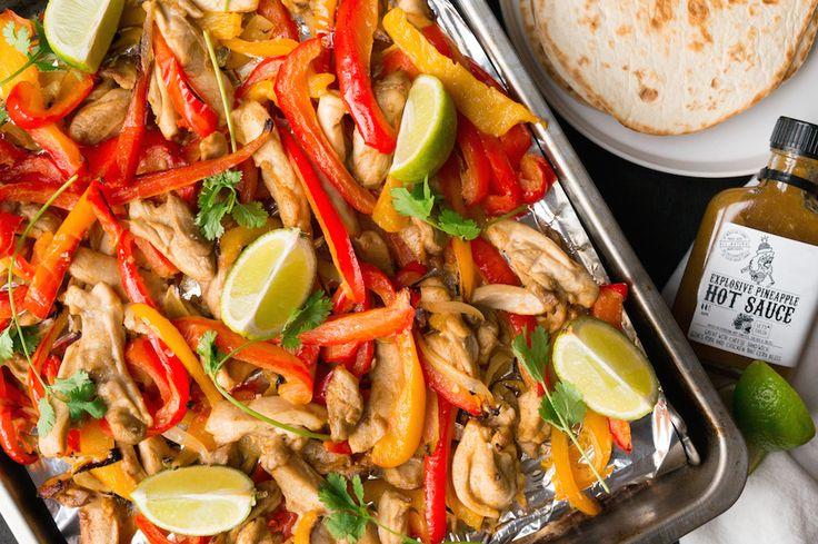 Culy Homemade: fajitas met kip uit de oven