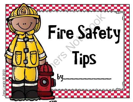 Fire Safety Tips (a class book to make) from ...