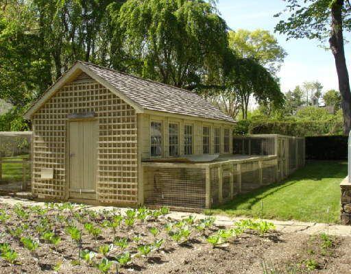 Martha stewart chicken coop design inspiration for Old farm chicken coops