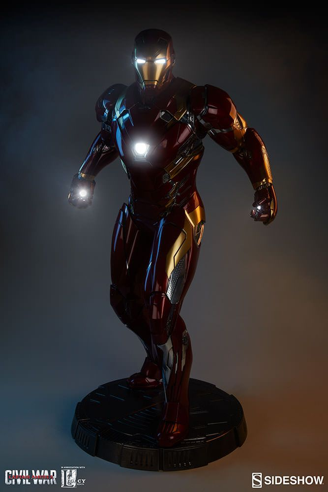 Marvel Iron Man Mark XLVI Legendary Scale Figure by Sideshow Collectibles