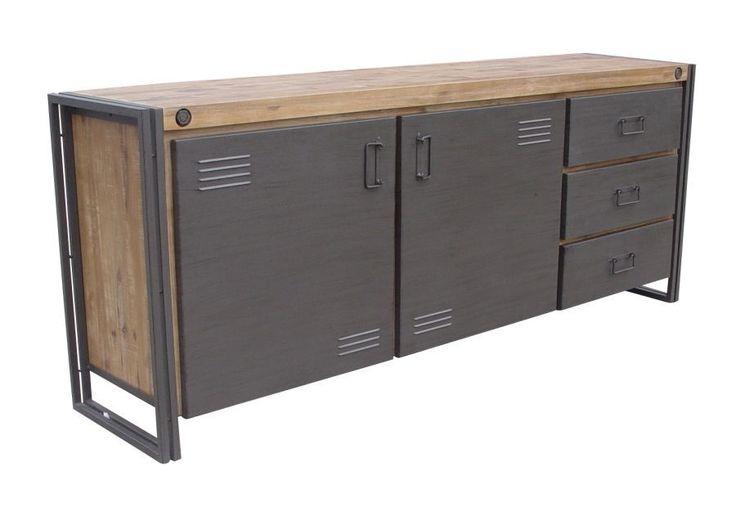 Industrial dressoir