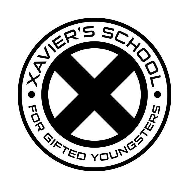 Awesome 39 Xavier 27s School 39 Design On Teepublic X Men Wolverine Xmen