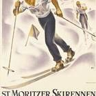 Celebrating 150 years of winter tourism in Switzerland, Christie's January ski sale auction showcases classic ski resort posters