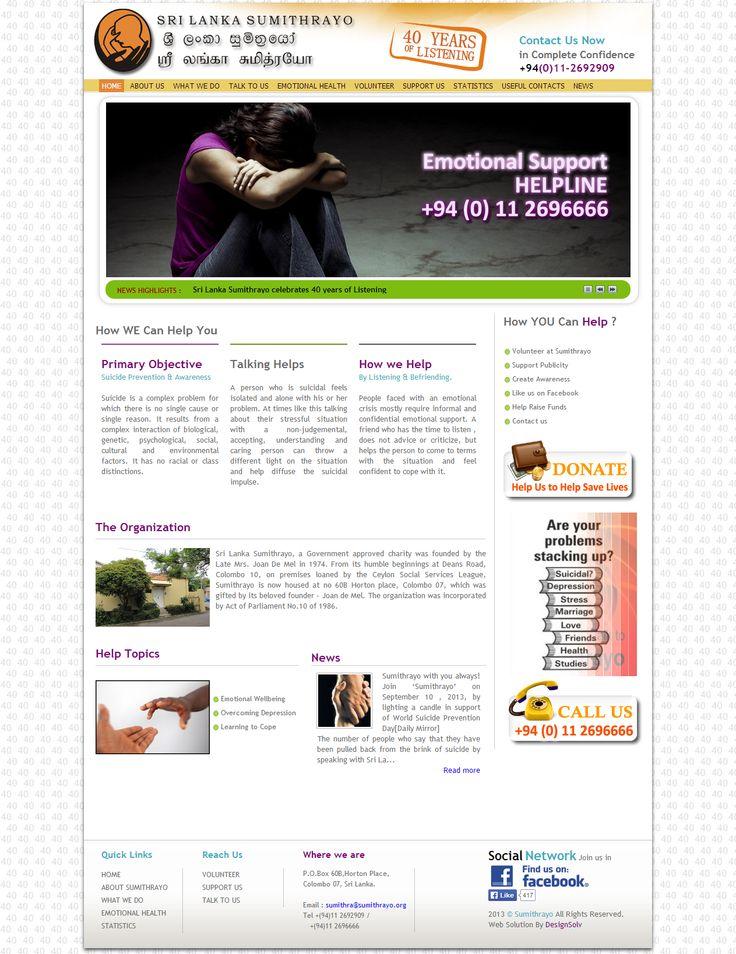 Sri Lanka Sumithrayo Website