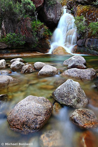 Ladies Bath Falls Mount Buffalo, Victoria, Australia