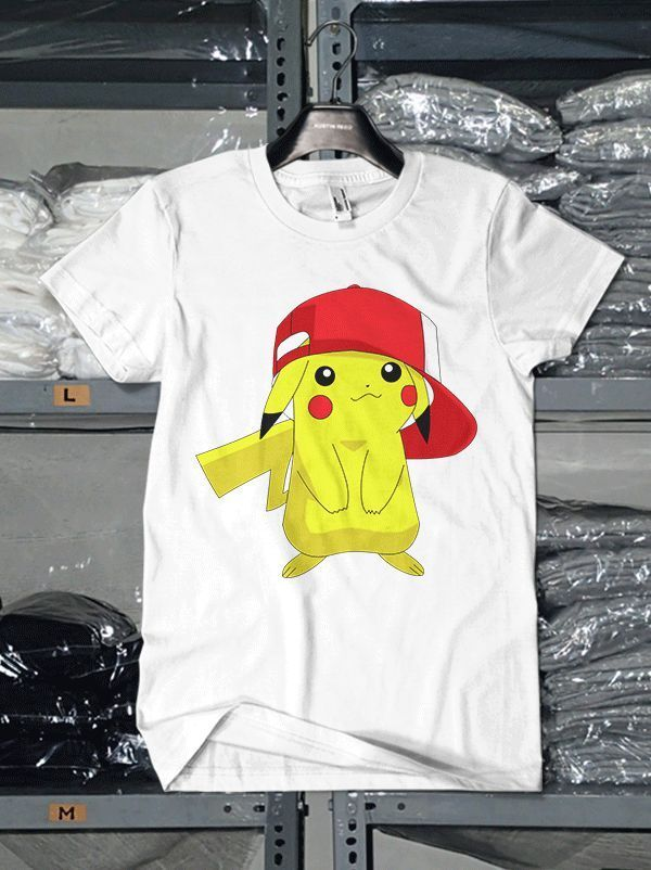 POKEMON CARTOON CHARACTER PIKACHU DESIGN T SHIRT go team mystic valor instict #Unbranded #GraphicTee