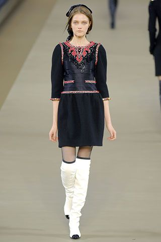 Chanel but forget the boots