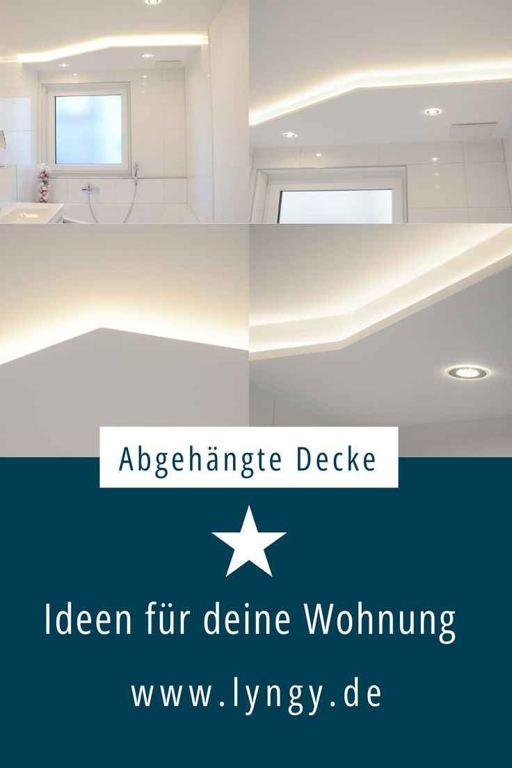 Abgehängte Decken   Abgehängte decke design, Badezimmer ...