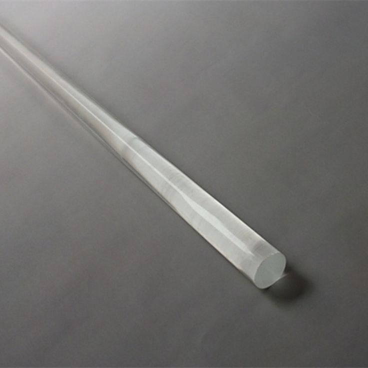 OD6x1000mm Acrylic Rods Clear (Extruded) Home Improvement Aquarium Perspex Furniture Plastic Transparent Bar PMMA Rod
