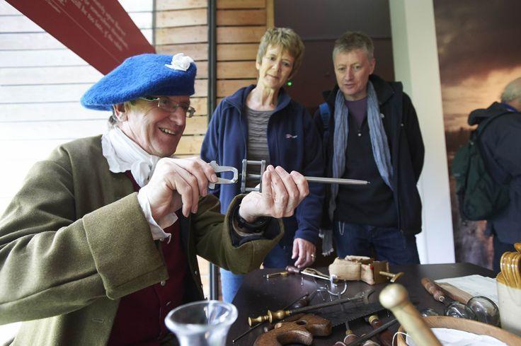 Living history at Culloden