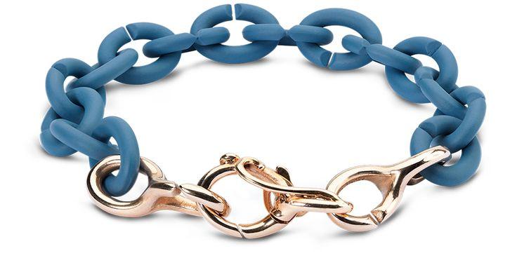 Denim Flow Bracelet #xjewellery