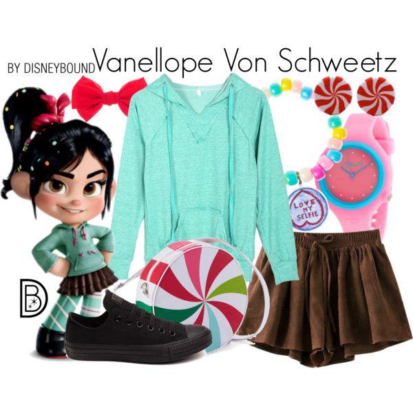 Disney Bound - Vanellope Von Schweetz