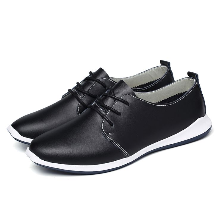Hot Sales Mens Formal Shoes Spring&Summer Men Dress Shoe Fashion Flats Vintage Italian Mens Faux Leather fashion Brogues