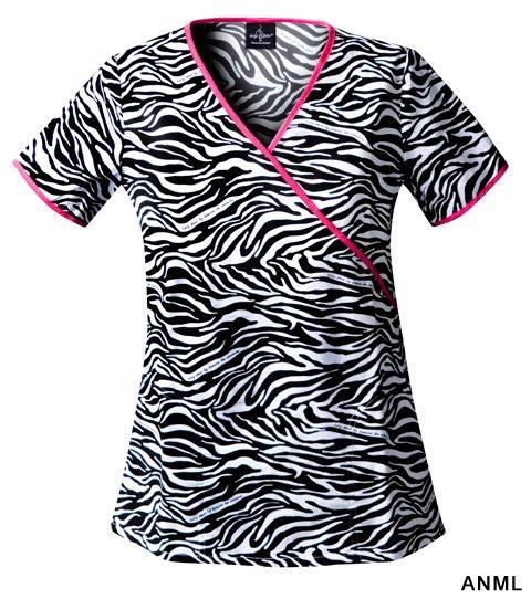 YUP, and this! Baby Phat 26826C women's scrub top - scrubadoo.com - scrubs & uniforms