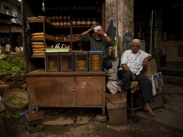 Old Men and their Shop, via Flickr.