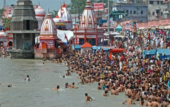 The Holy City of Haridwar Millions of devotees gather at the banks of Ganga here to take part in the Kumbh Mela, held every twelve years. Visit the city to know the amazing facts of Hinduism at the temples of Chandi Devi, Maya Devi, Har ki Pauri and at the Mansa Devi Temple.