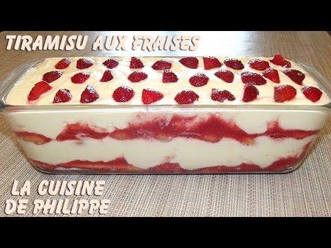 Recette bien de saison que ce Tiramisu aux fraises. La douceur de la crème au Mascarpone est sublimée par l'acidité de la fraise rendant ce dessert plus que ...