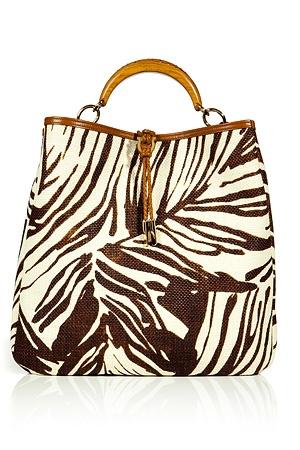 Tan Printed Ceyla Bag