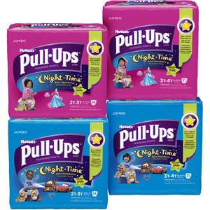 HUGGIES Pull-Ups Nighttime Training Pants (Choose Your Size)