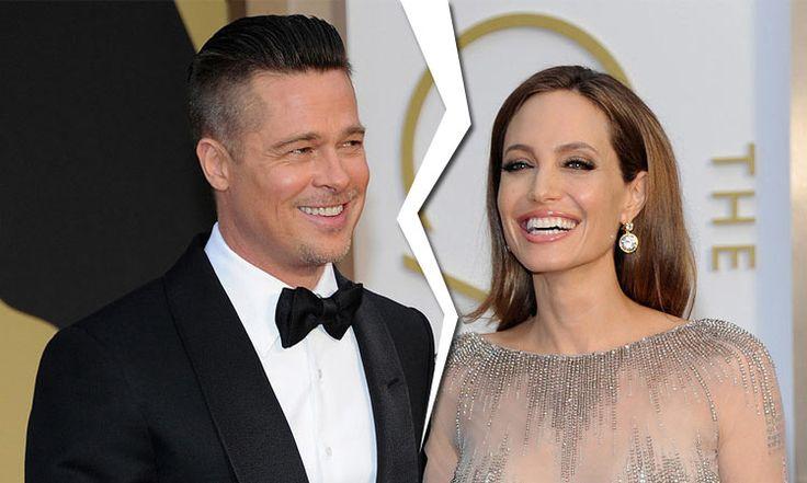 Brad Pitt And #Angelina Jolie - Brad And Angelina Divorce