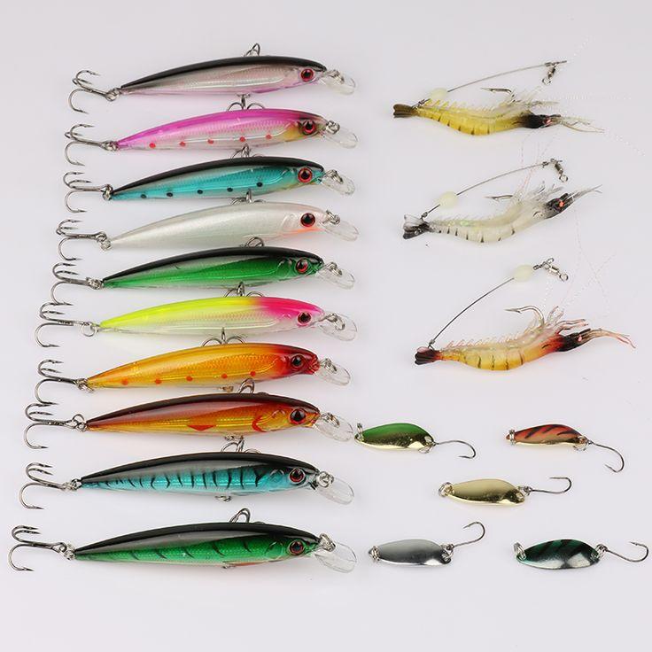 $29.98 (Buy here: https://alitems.com/g/1e8d114494ebda23ff8b16525dc3e8/?i=5&ulp=https%3A%2F%2Fwww.aliexpress.com%2Fitem%2FGoture-18pcs-Fishing-lure-set-Minnow-Soft-Shrimps-Spoon-Spinner-Bait-Bass-Baits-Free-Shipping%2F32596896016.html ) Goture 18pcs Fishing lure set Minnow+Soft Shrimps+Spoon Spinner Bait Bass Baits Free Shipping  for just $29.98