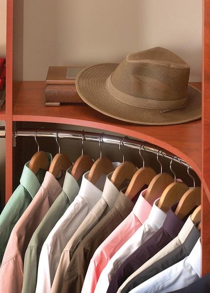 Curved Coat Rack Corner Closets Pinterest Coats