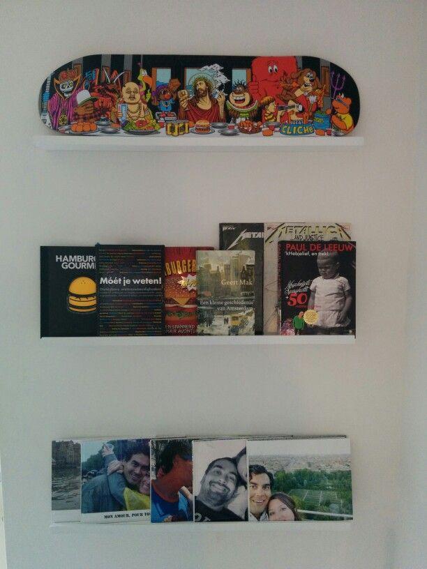 Book- skate shelfs