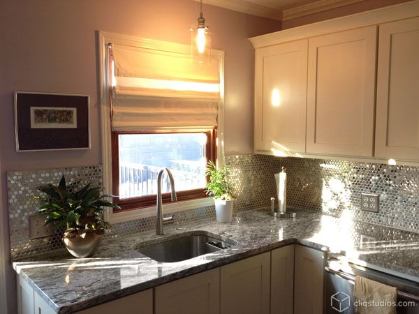 mirror tile backsplash florida income property pinterest